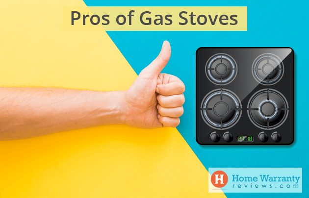 Pros of Gas Stoves