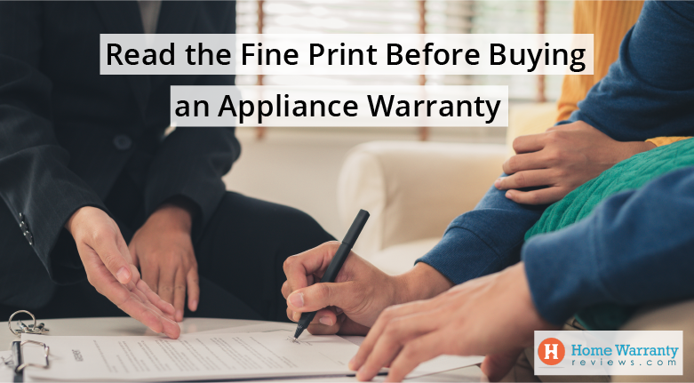 Read the Fine Print Before Buying an Appliance Warranty