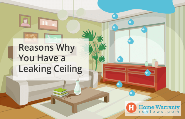 Reasons Why You Have a Leaking Ceiling