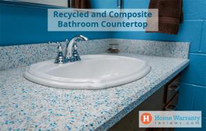 recycled bathroom countertops