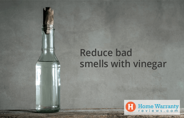Reduce bad smells with vinegar