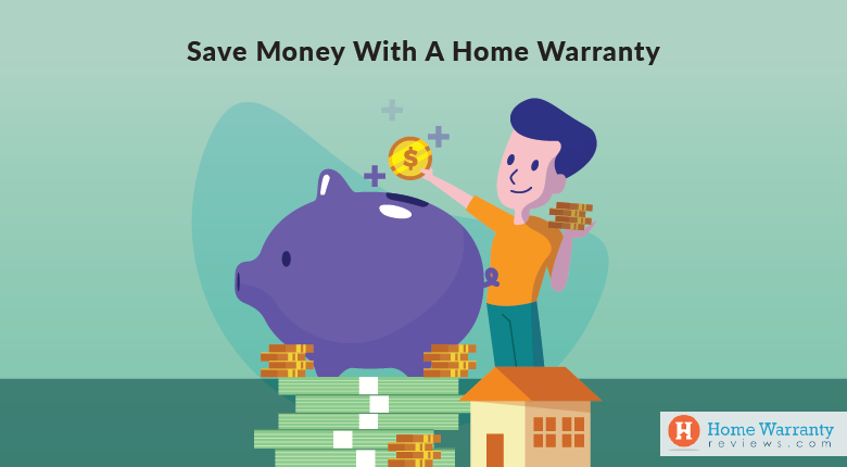 Save money with a home warranty