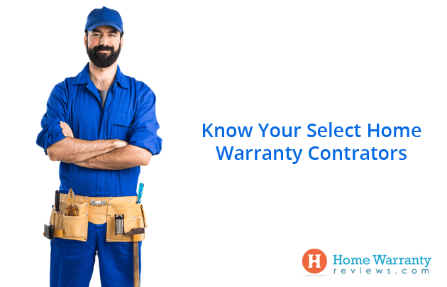 Select Home Warranty Contractors