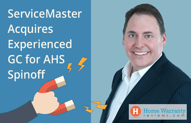 ServiceMaster Acquires Experienced GC for AHS Spinoff
