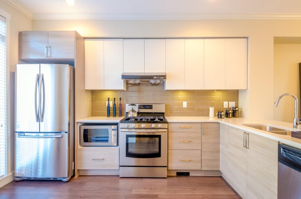 Appliances in the kitchen