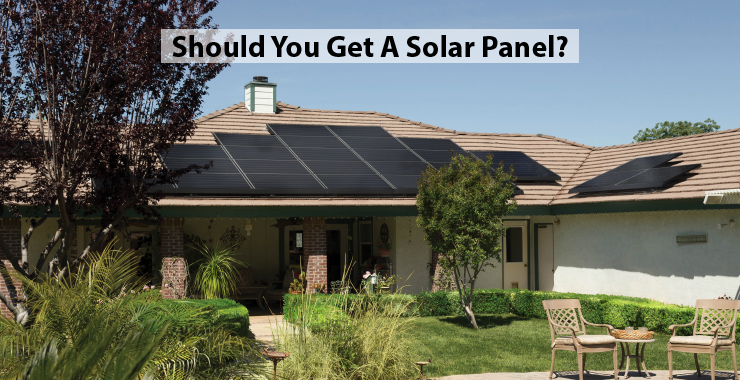 Should we get a solar panel?