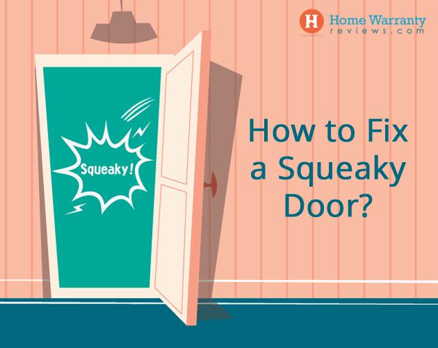 fix a squeaky door