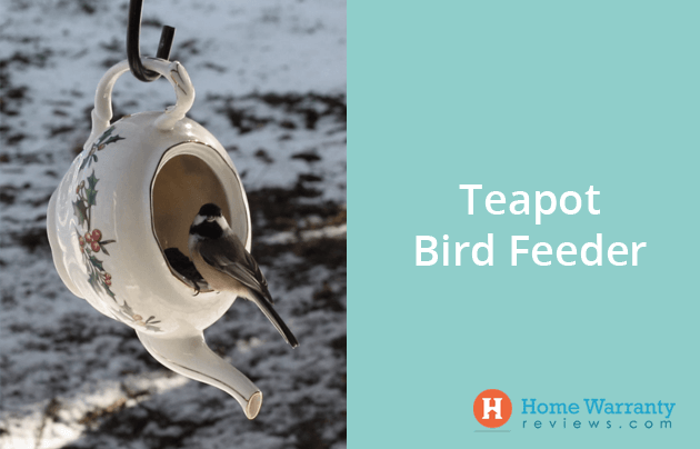 Teapot Bird Feeder