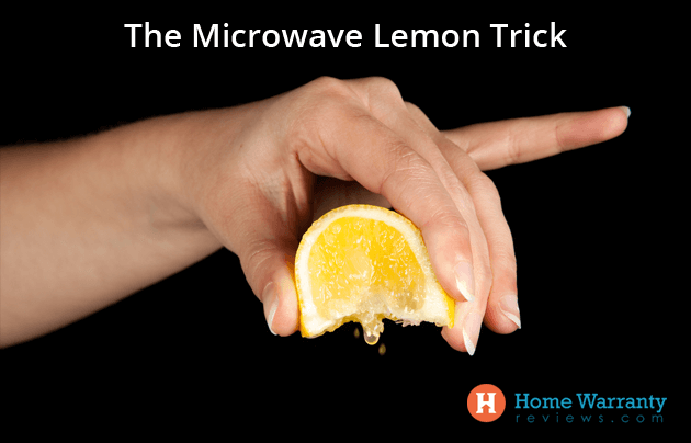Microwave Lemon Trick