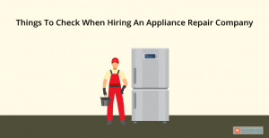 hiring an appliance repair company