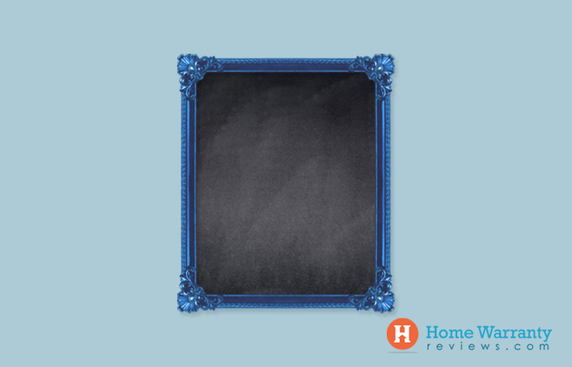 Turn Inexpensive Frames Into Chalkboard Signs