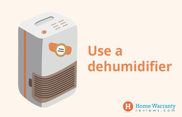 Use a dehumidifier