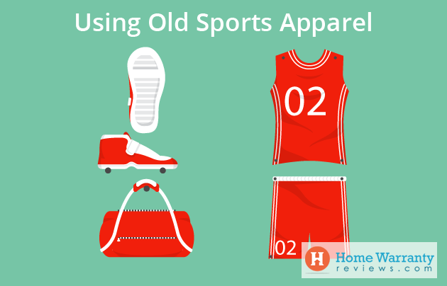 using old sports apparel