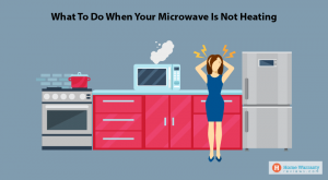 Microwave stops heating