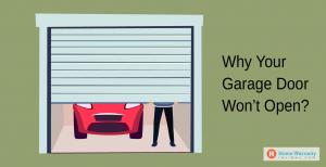 Why Your Garage Door Won't Open