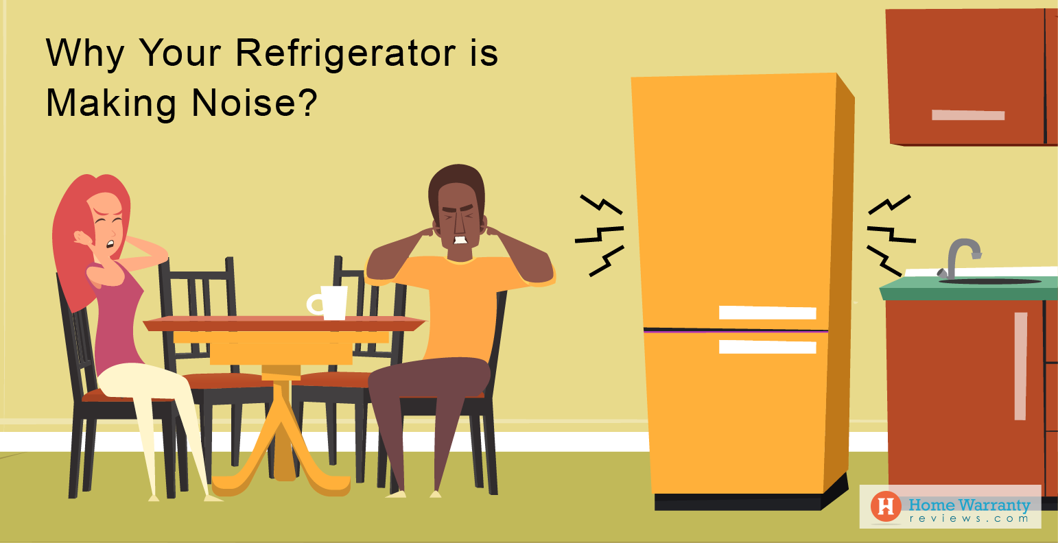 Reasons Why Your Refrigerator is Making Noise