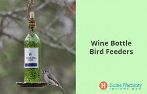Wine Bottle Bird Feeders