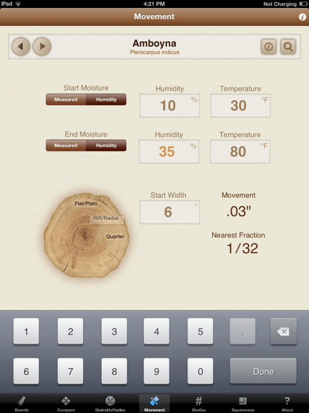 Woodshop Widget