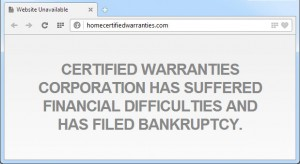 Certified Warranties