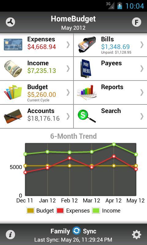 Home Budget App