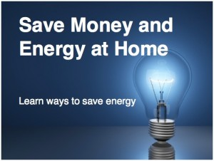 Save Energy at Home