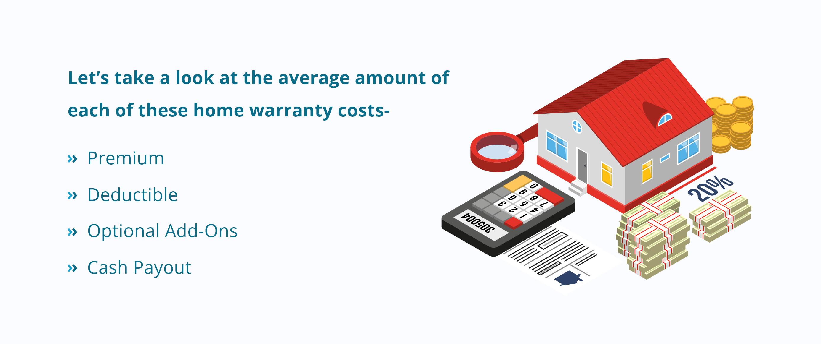 home warranty cost breakdown