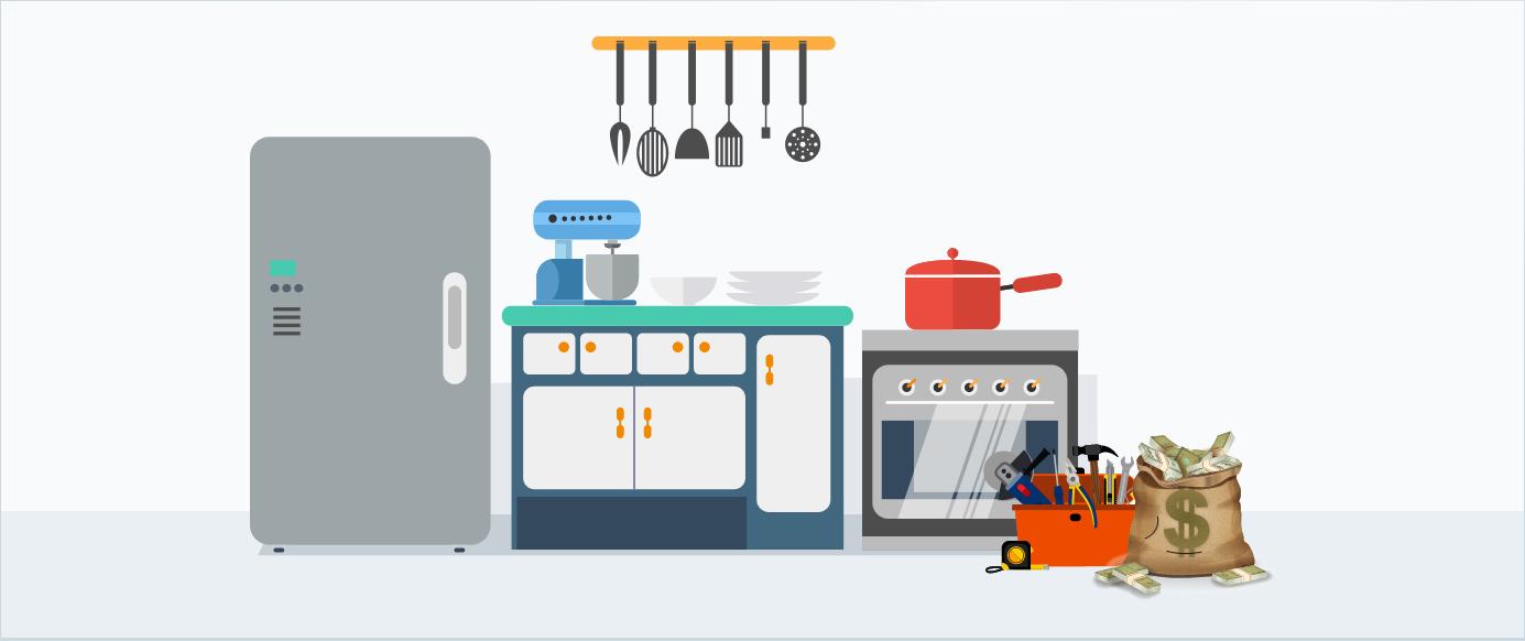 home appliances breakdown