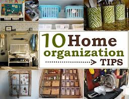 organise home 10 tips