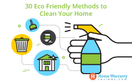 30 Eco Friendly Methods to Clean Your Home