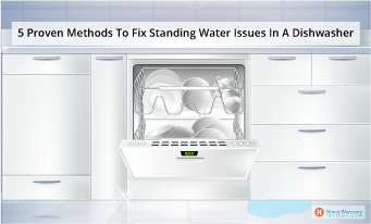 5 Proven Methods To Fix Standing Water Issues In A Dishwasher