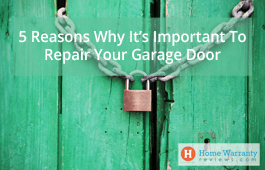 5 Reasons Why It's Important To Repair Your Garage Door