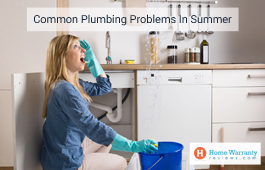 Common Plumbing Problems In Summer