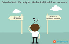 Difference Between Extended Auto Warranty and Mechanical Breakdown Insurance