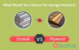 Drywall or Plywood: What To Choose For Your Garage?