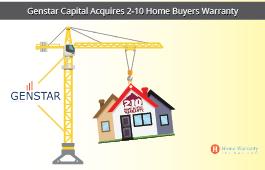 Genstar Capital Acquires 2-10 Home Buyers Warranty