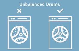 How to Balance a Washing Machine Drum?
