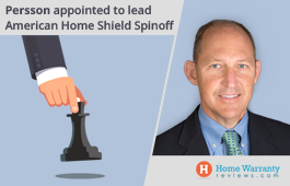 Persson Appointed to Lead American Home Shield Spin-off