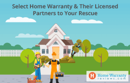 Select Home Warranty & Their Licensed Partners to Your Rescue