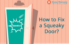 How to Fix a Squeaky Door?