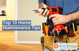 Top 10 Home Maintenance Tips