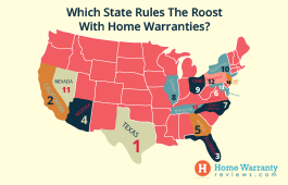 Which State Rules The Roost With Home Warranties?