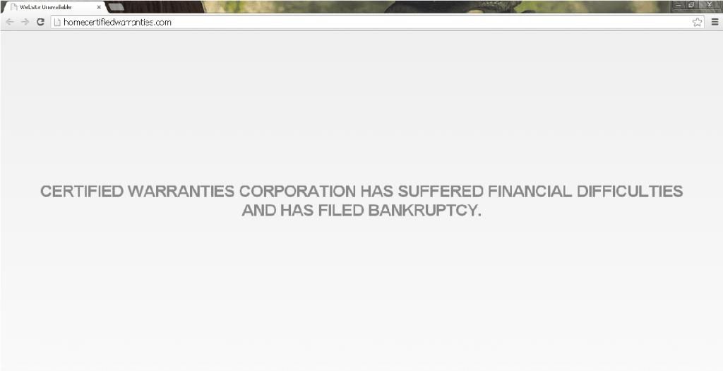 Certified Warranties Corporation
