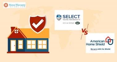 American Home Shield vs Select Home Warranty
